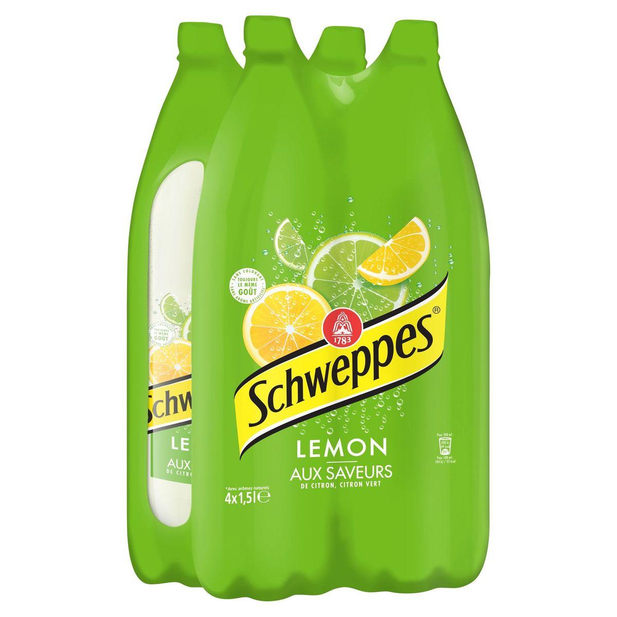 Schweppes LEMON 4X150CL