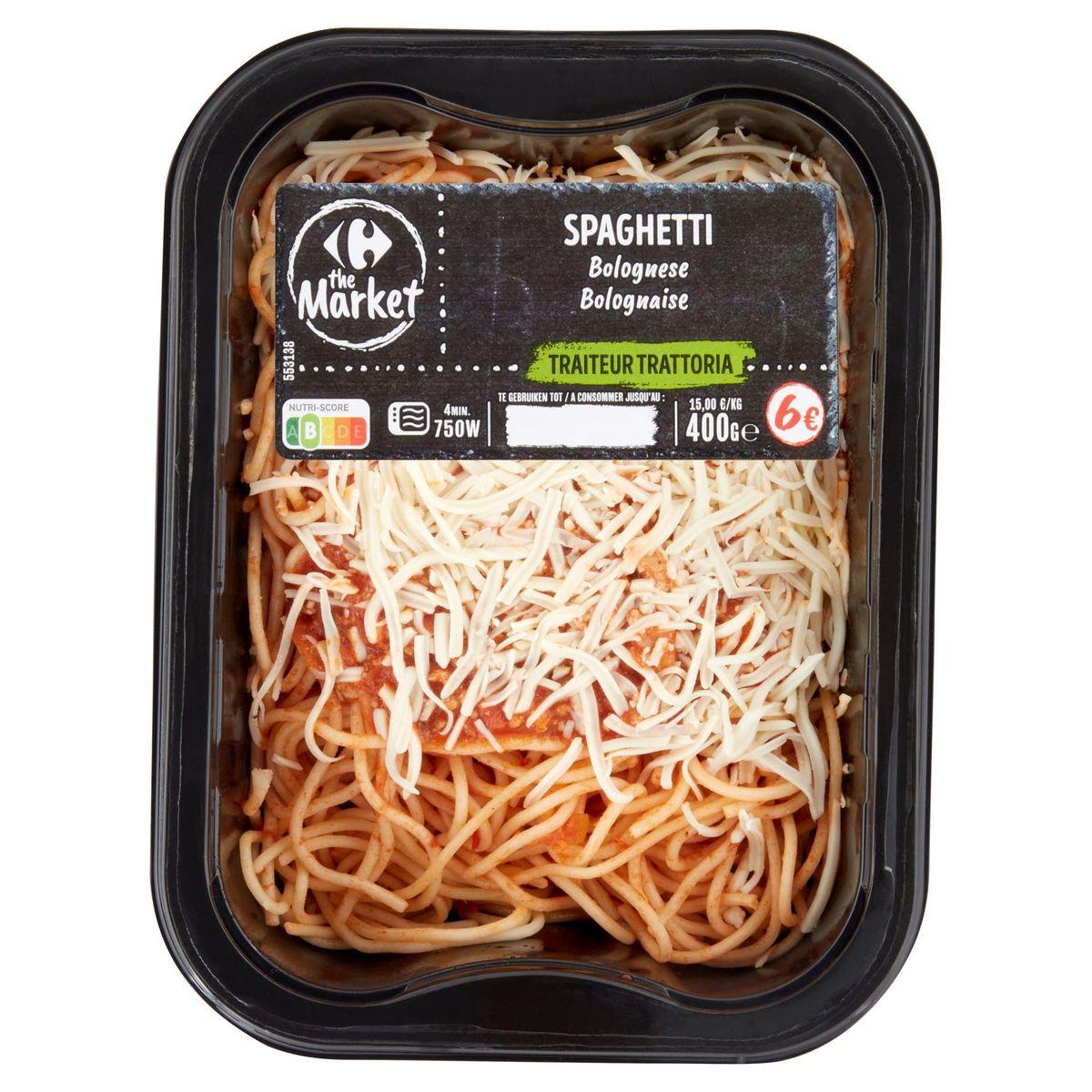 Carrefour Traiteur Trattoria Spaghetti Bolognaise 400 g