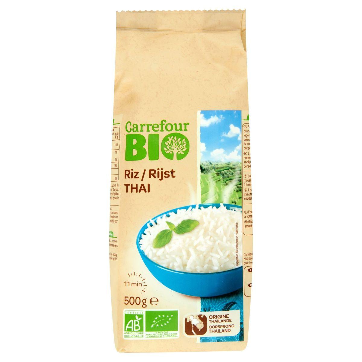 Carrefour Bio Riz Thaï 500 g