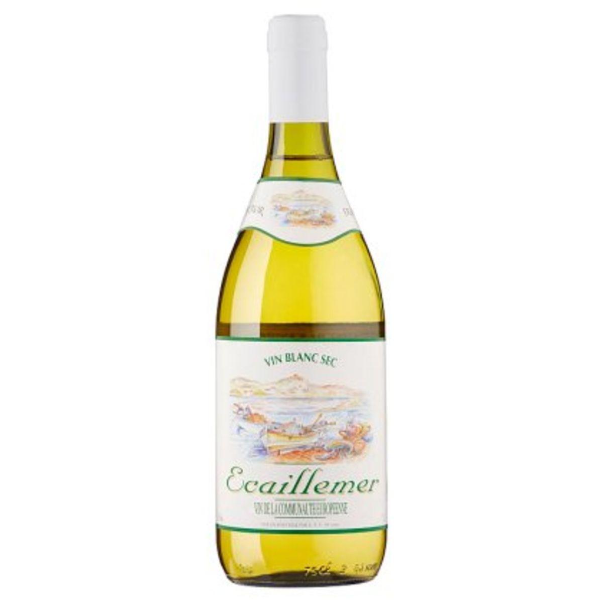 Ecaillemer vin blanc sec de la communaute europeenne 75 cl