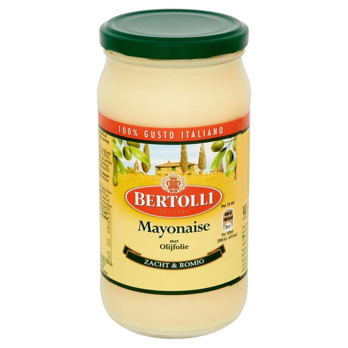 Bertolli Mayonaise met Olijfolie 500 ml