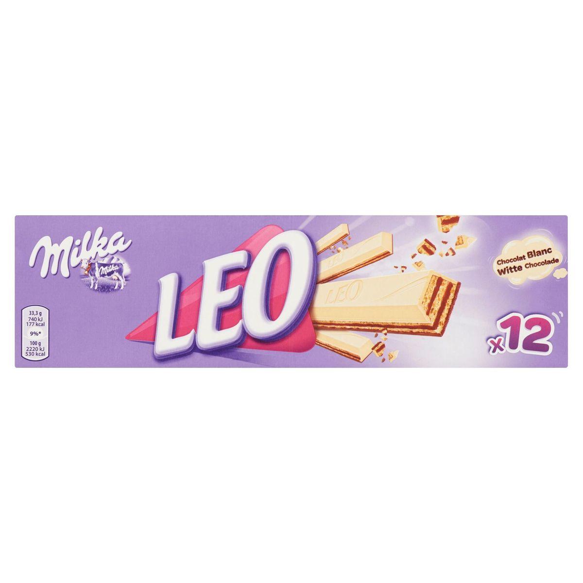 Milka Leo Chocolat Blanc 12 x 33.3 g