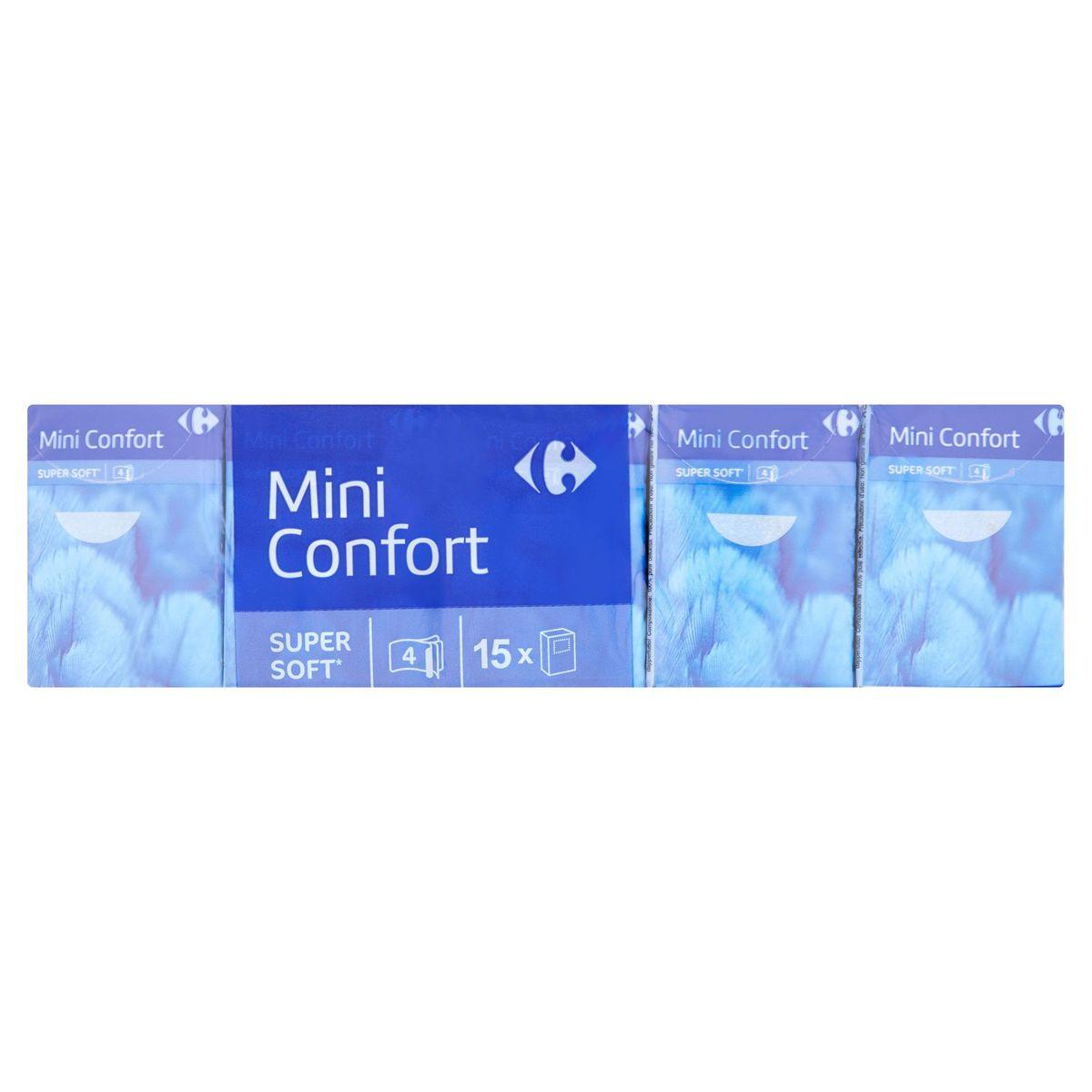 Carrefour Mini Confort 4-Lagen 15 Pakjes Zakdoeken