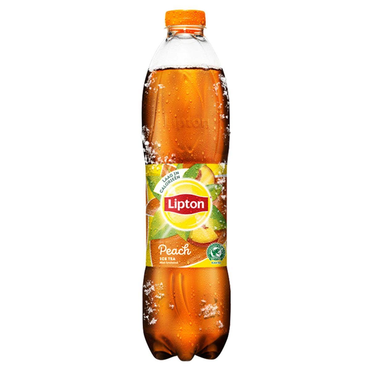 Lipton Iced Tea  Niet Bruisend Ijsthee  Perzik laag in calorieën 1.5 L