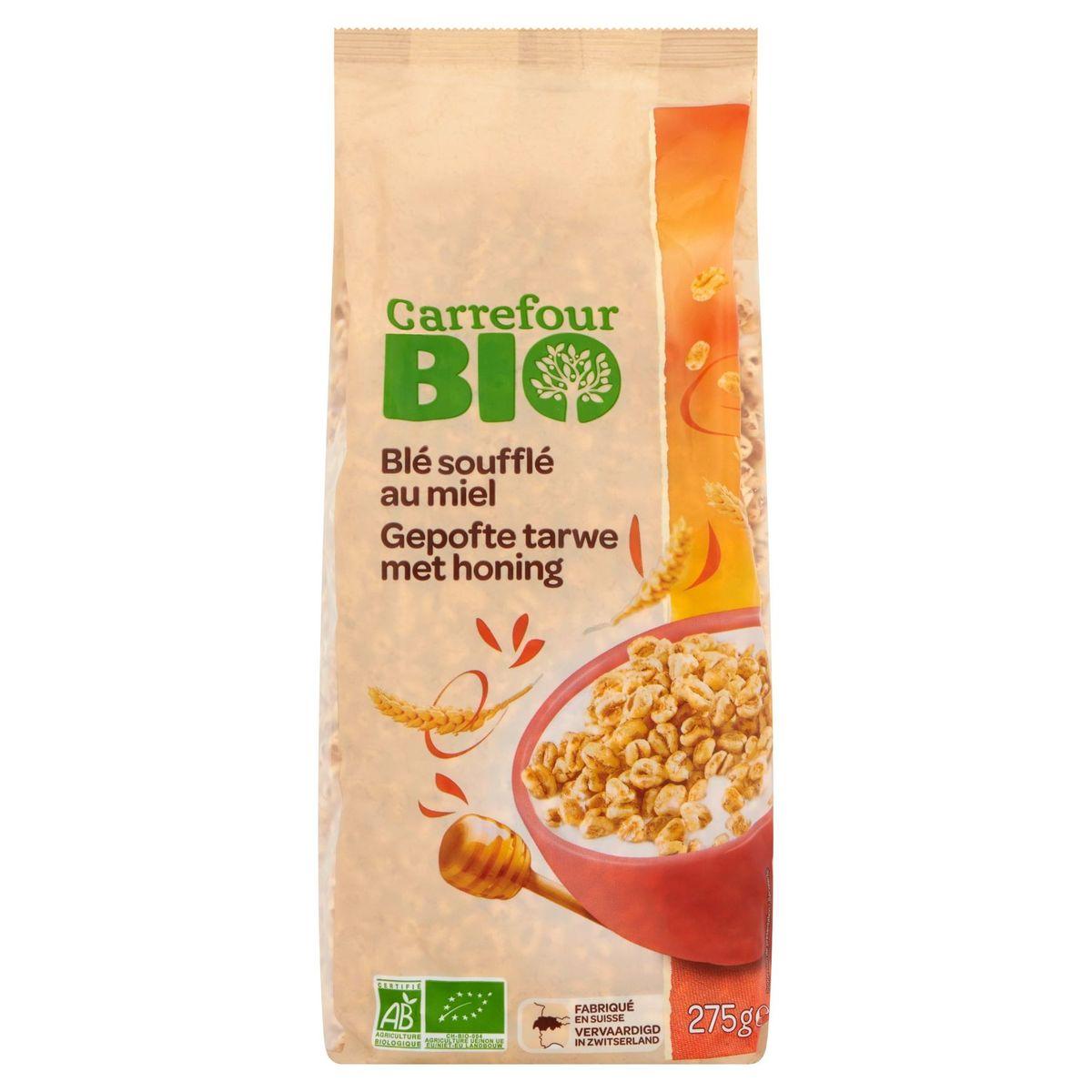 Carrefour Bio Gepofte Tarwe met Honing 275 g