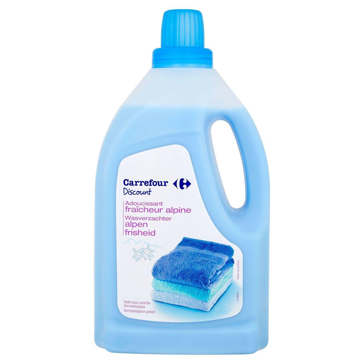 Carrefour Discount wasverzachter alpen frisheid 1.5 L