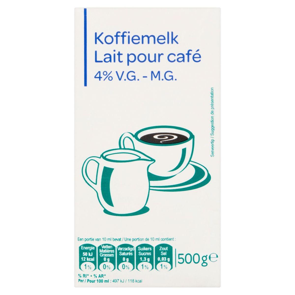 Carrefour Koffiemelk 4% V.G. 465 ml
