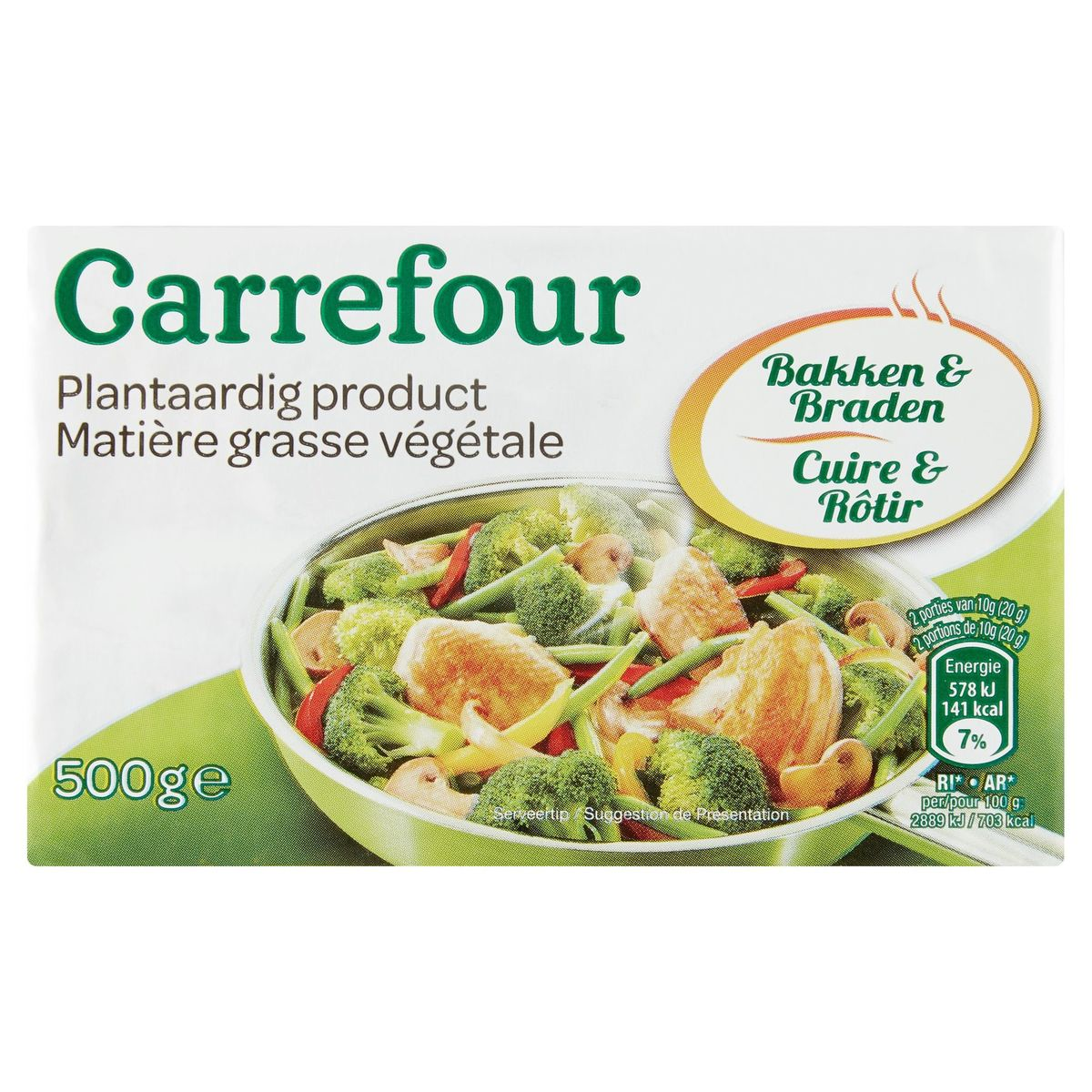 Carrefour Plantaardig Product Bakken & Braden 500 g