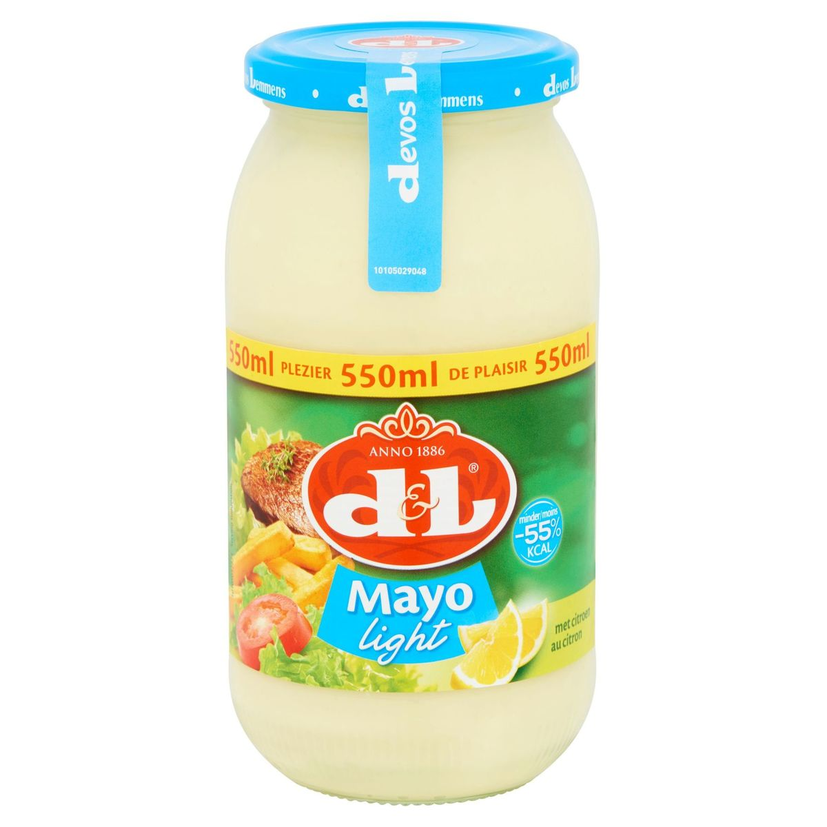 Devos Lemmens Mayo Light au Citron 550 ml