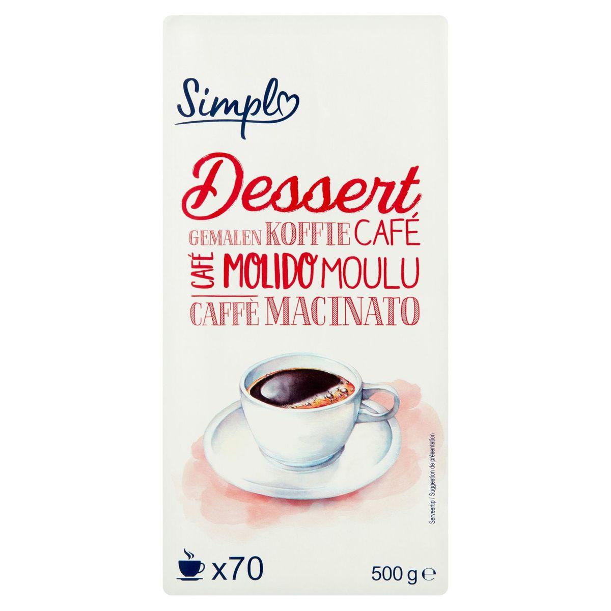 Carrefour Café Moulu Dessert 500 g