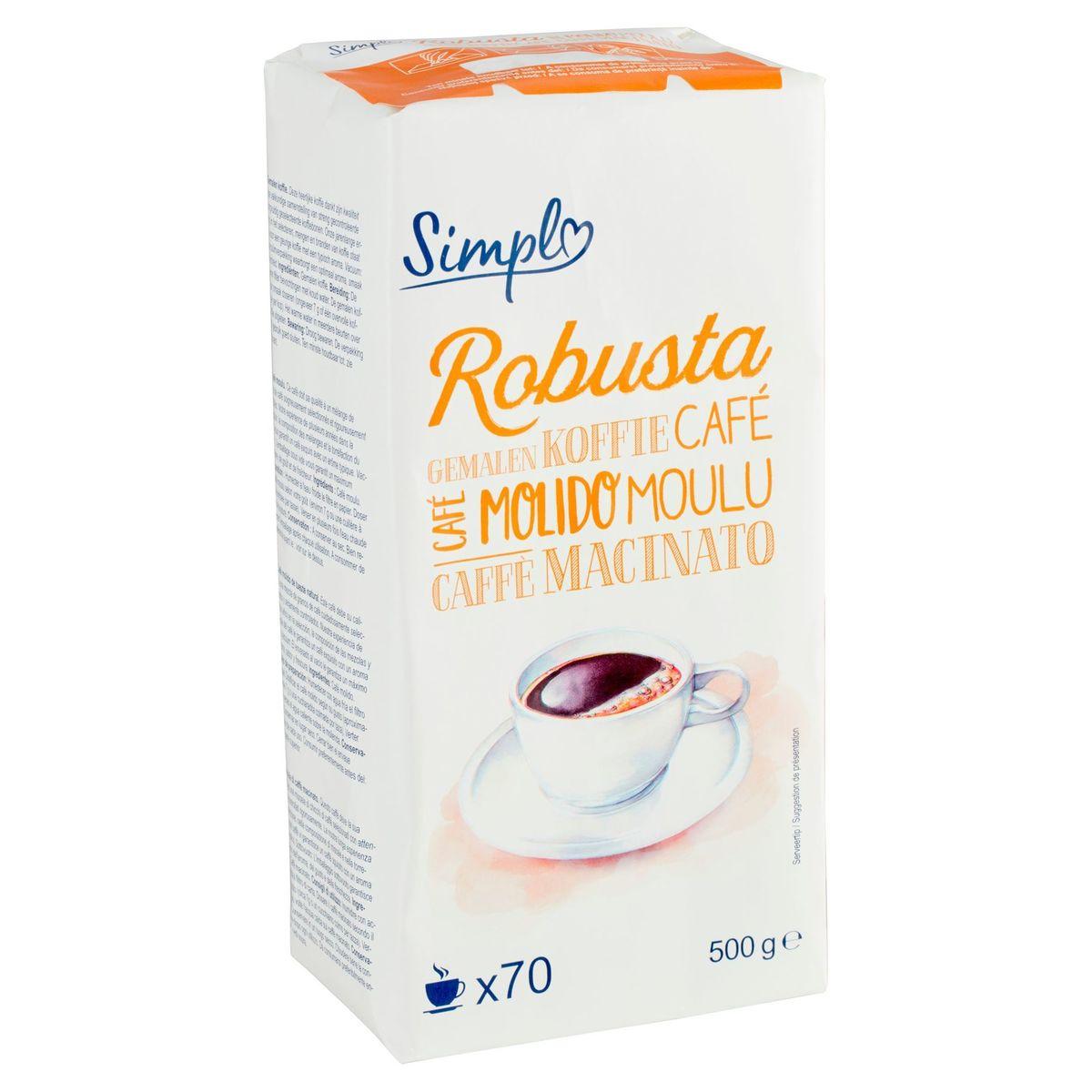 Simpl Robusta Café Moulu 500 g