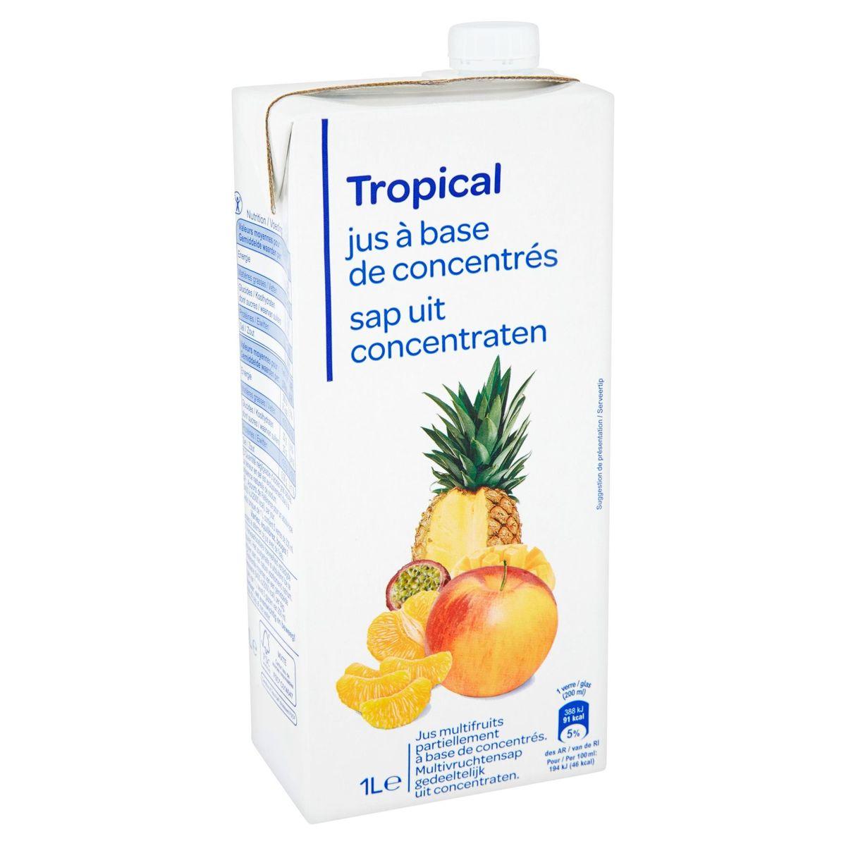 Tropical Jus à Base de Concentrés 1 L