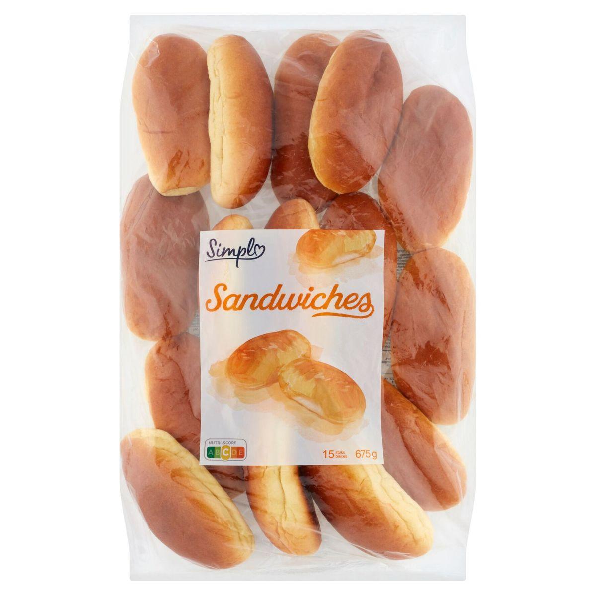 Carrefour Sandwiches 15 Pièces 675 g
