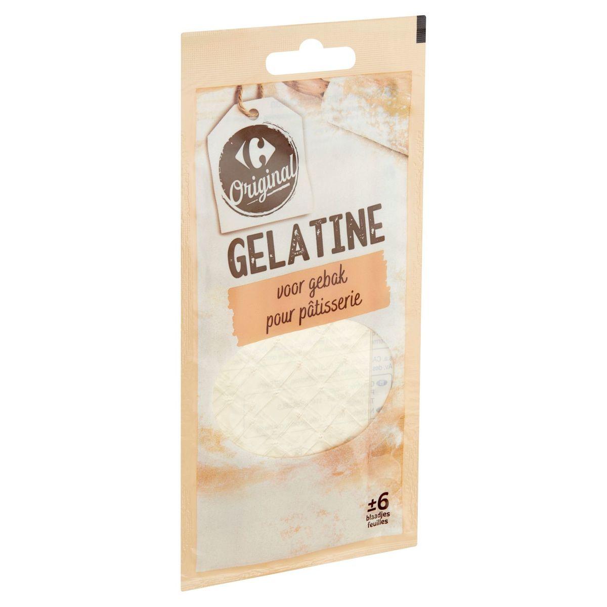 Carrefour Gelatine Blaadjes voor Gebak 12 g