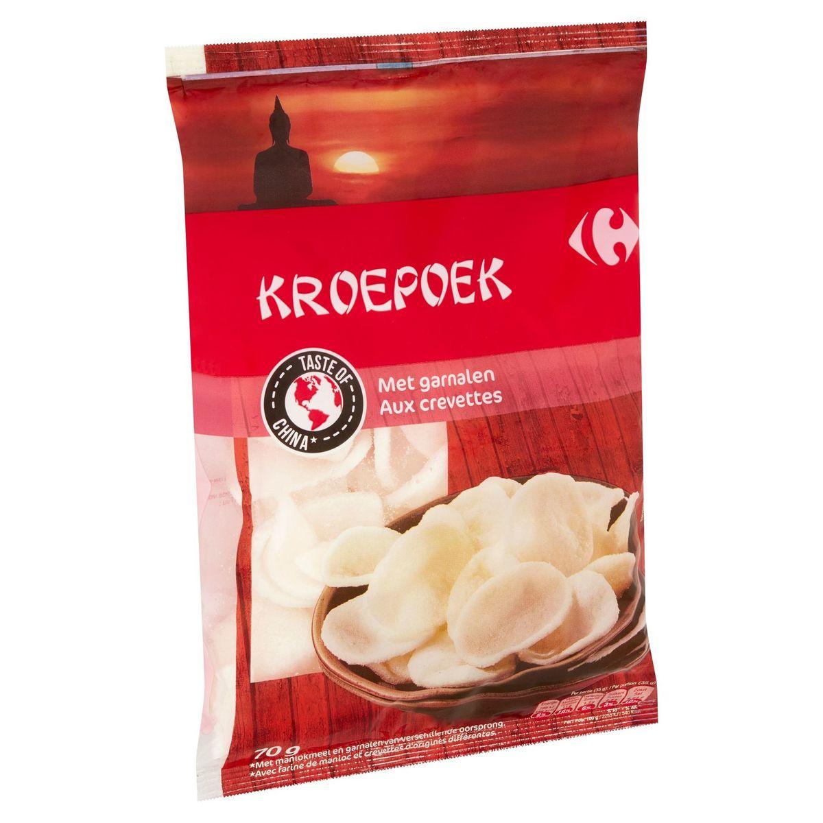 Carrefour Kroepoek aux Crevettes 70 g