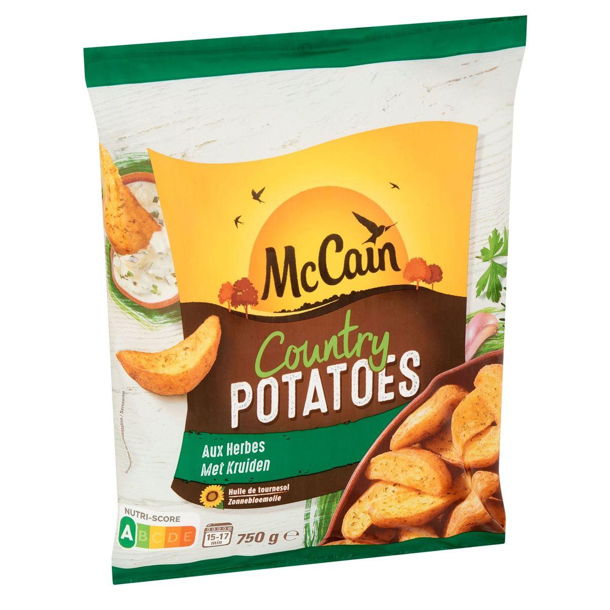 McCain Country Potatoes met Kruiden 750 g