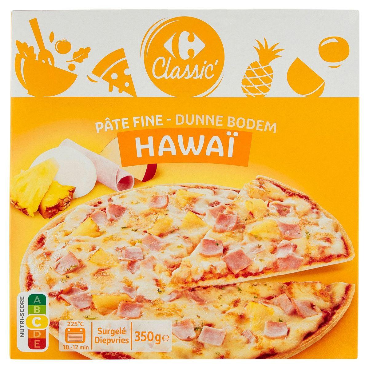 Carrefour Pizza Hawaï Dunne Bodem 350 g