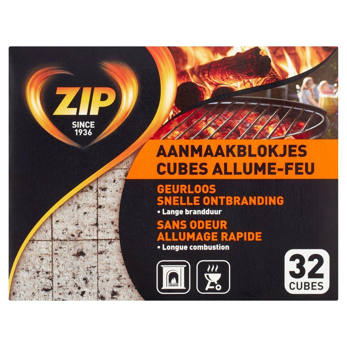 Zip Aanmaakblokjes 32 Stuks
