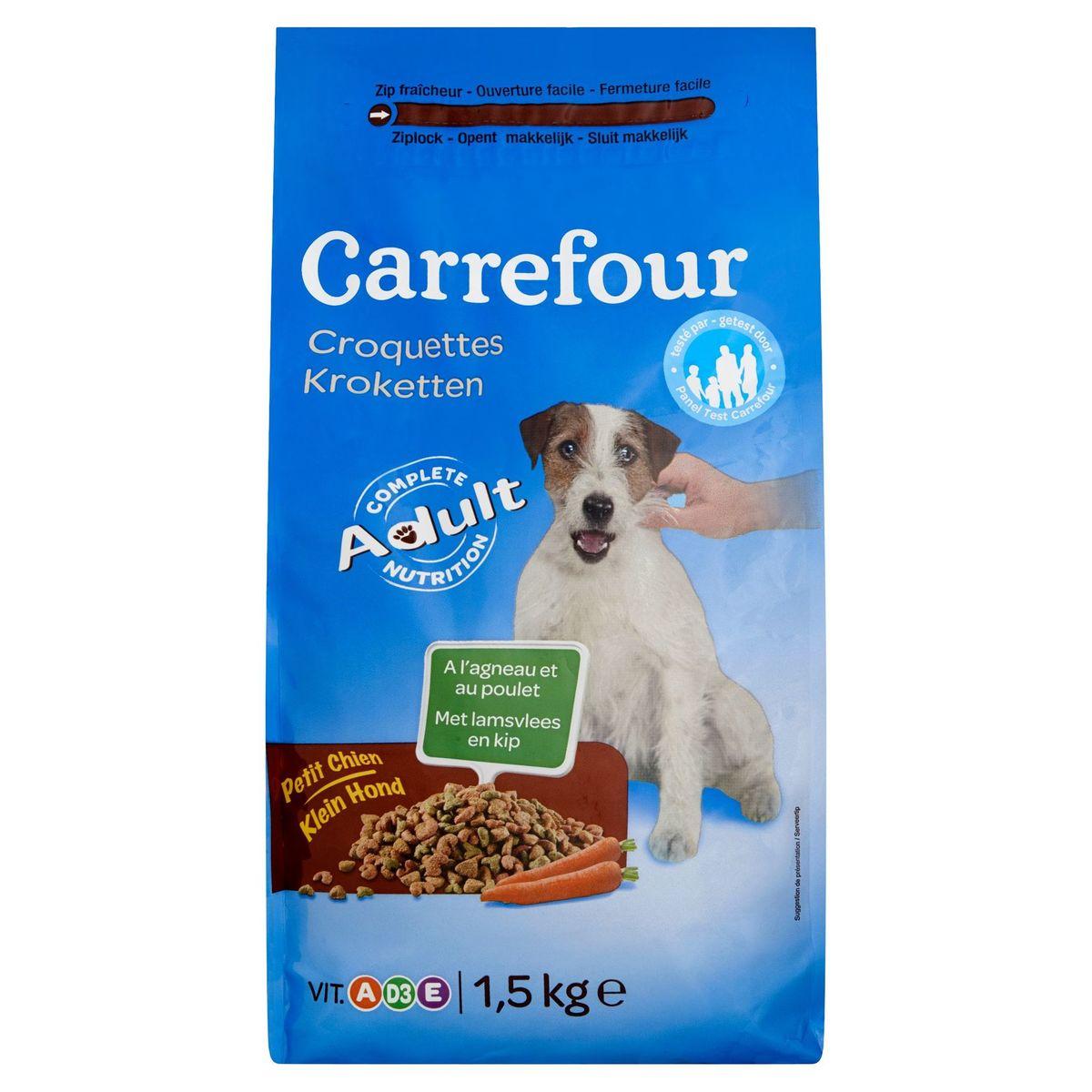 Carrefour Kroketten met Lamsvlees en Kip Klein Hond 1.5 kg