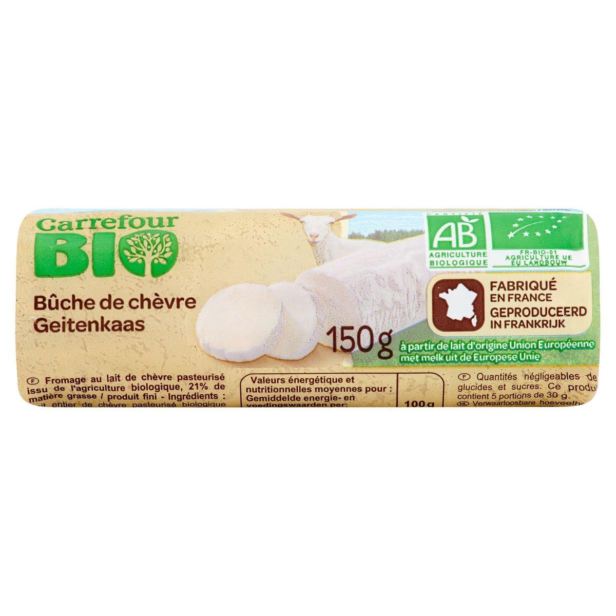 Carrefour Bio Geitenkaas 150 g