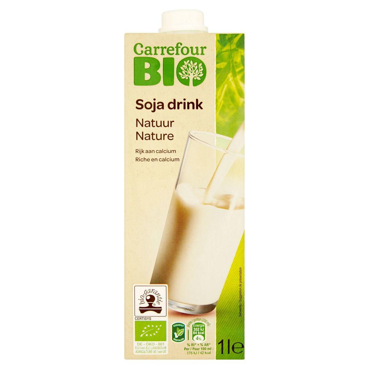 Carrefour Bio Soja Drink Nature 1 L