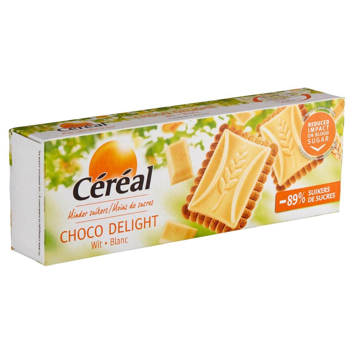 Céréal Moins de Sucres Choco Delight 12 Biscuits 126 g