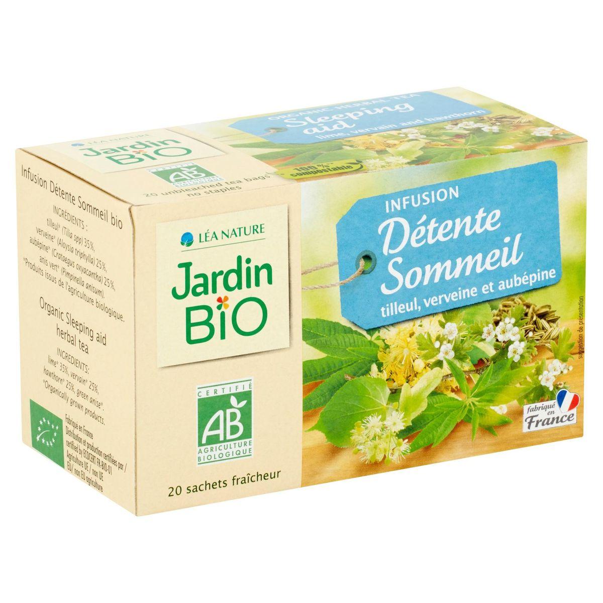 Jardin BiO ētic Détente Sommeil Tilleul, Verveine & Aubépine 30 g