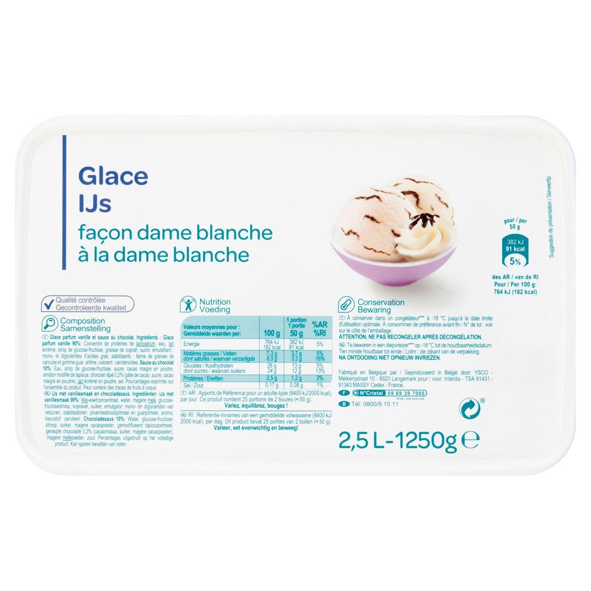 IJs à la Dame Blanche 1250 g