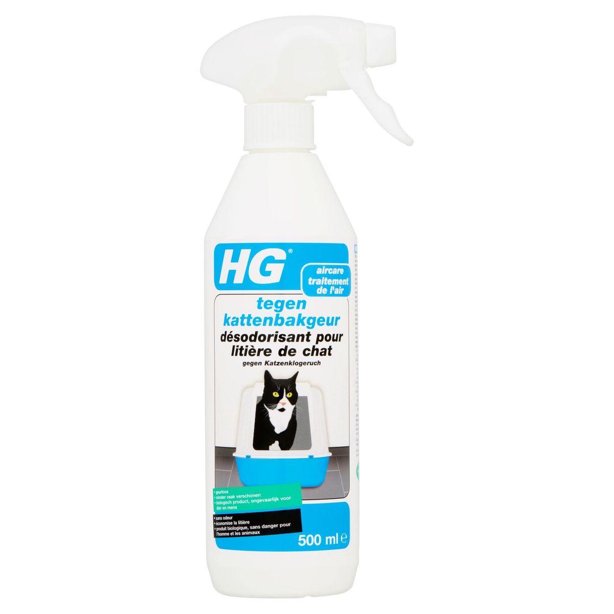HG Aircare Tegen Kattenbakgeur 500 ml