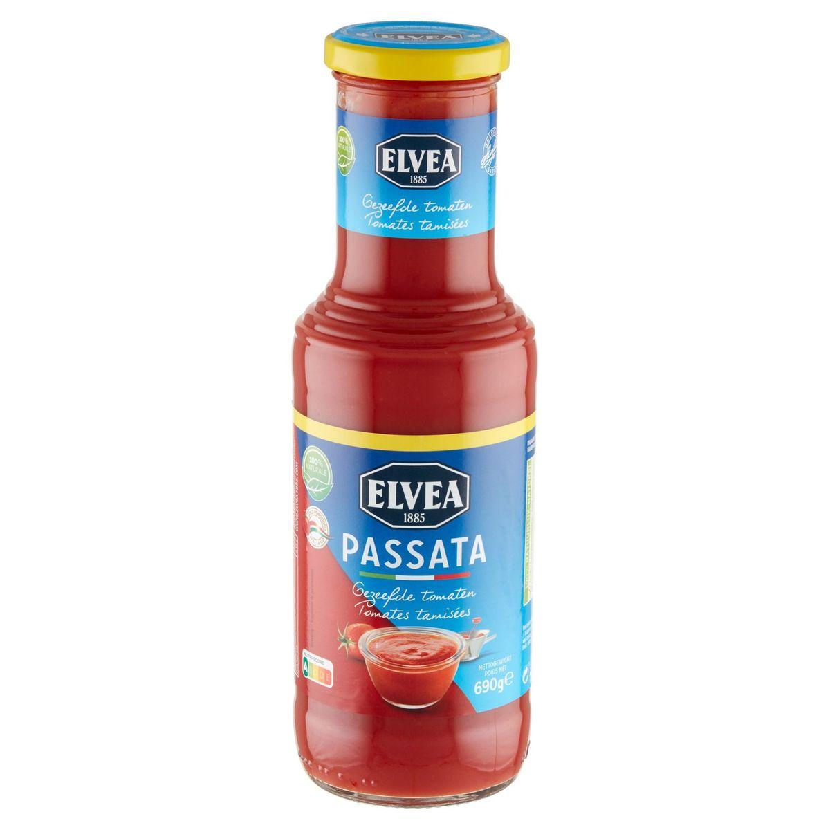 Elvea Passata Tomates Tamisées 690 g