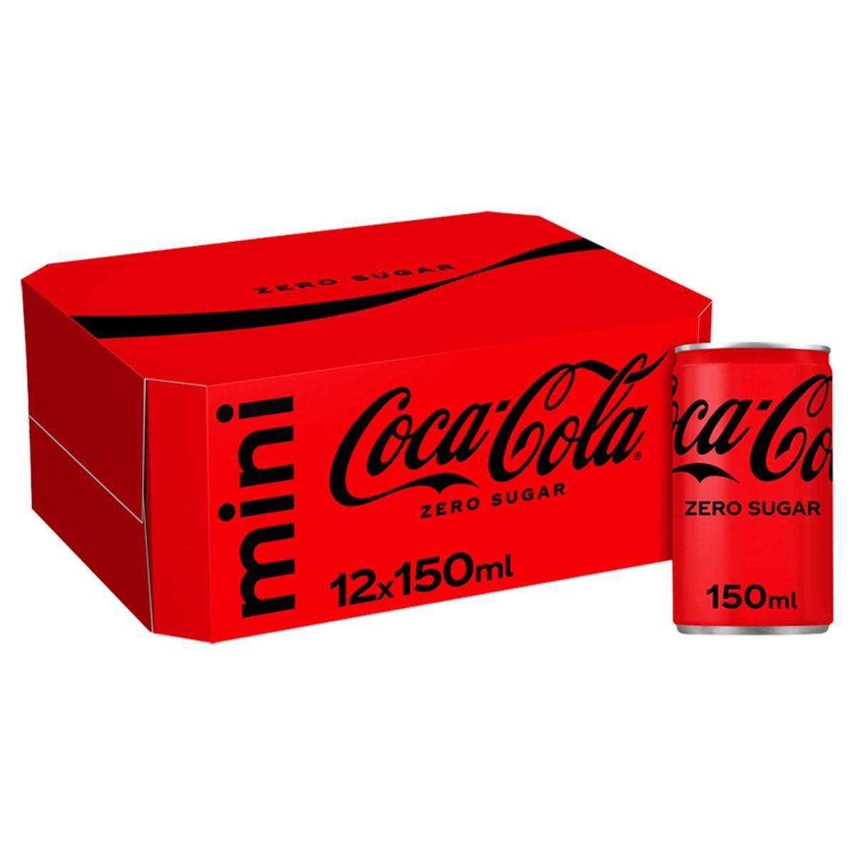 Coca-Cola Zero Blik 12 x 150ml