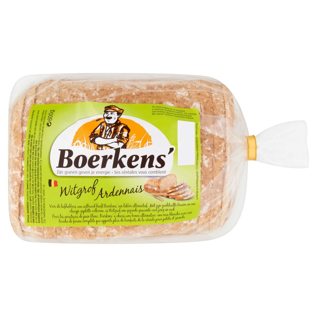 Boerkens' Witgrof 600 g