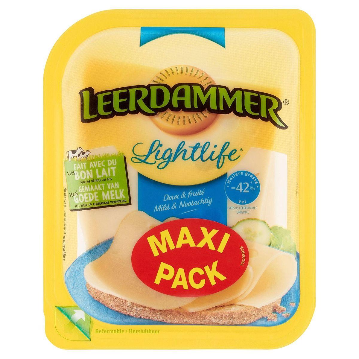 Leerdammer Lightlife Doux & Fruité Maxi Pack 350 g