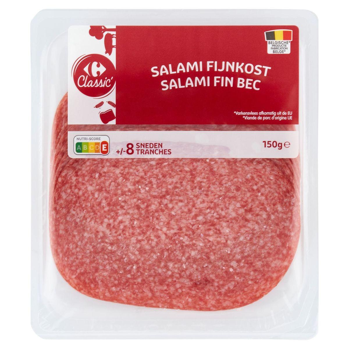 Carrefour Fijnkost Salami 150 g