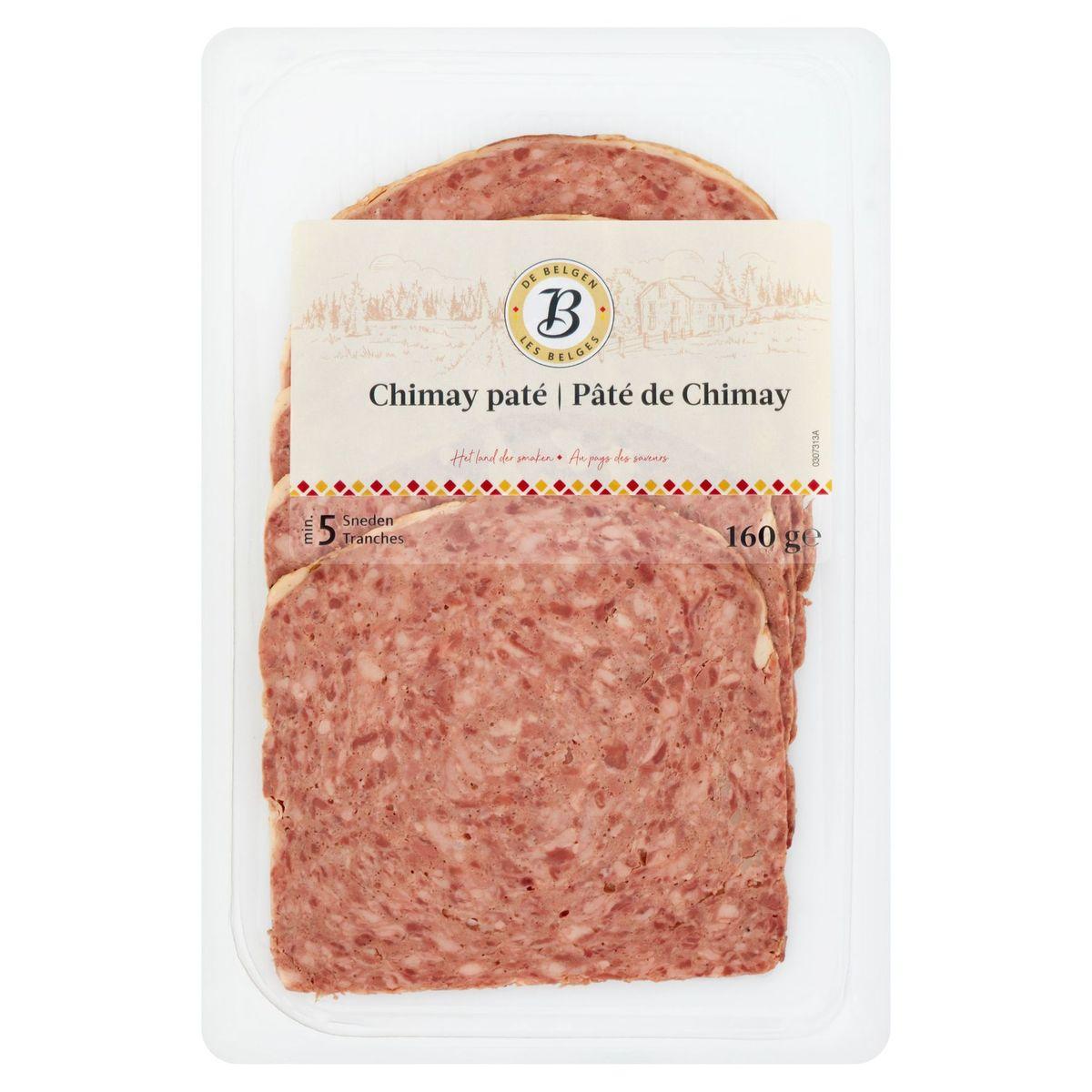 De Belgen Chimay Paté 160 g