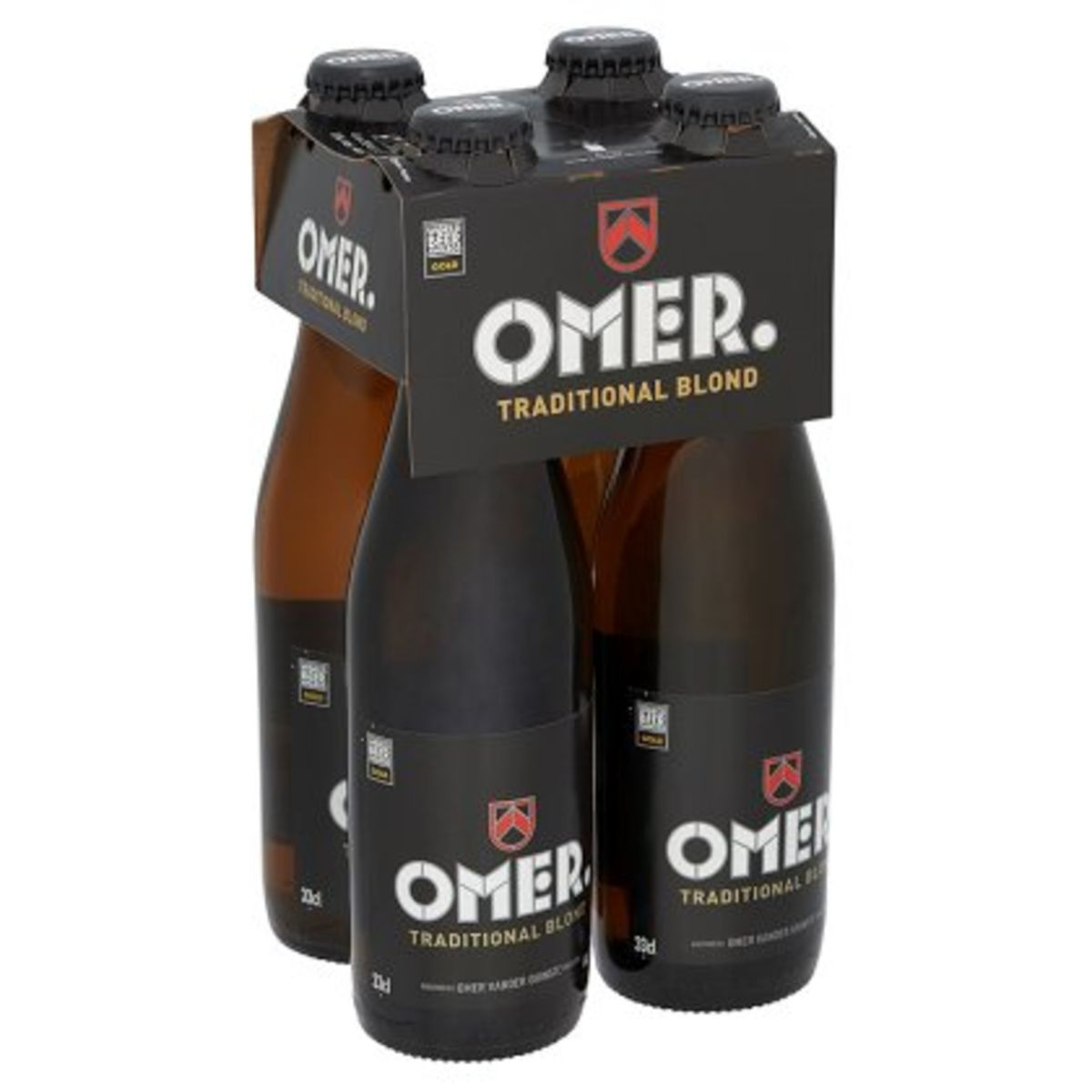 Omer. Traditional Blond Flessen 4 x 33 cl