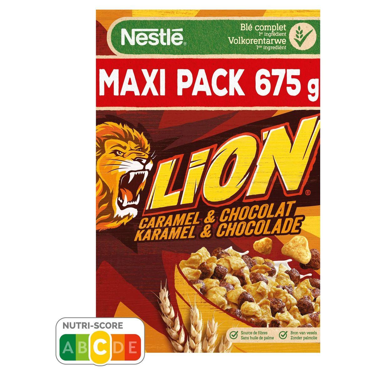 Lion Caramel & Chocolate Maxi Pack 675 g