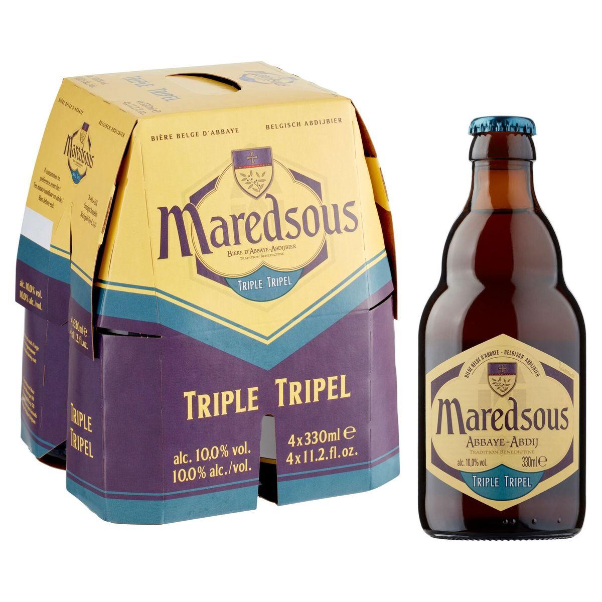 Maredsous Triple Belgisch Abdijbier 4 x 330 ml