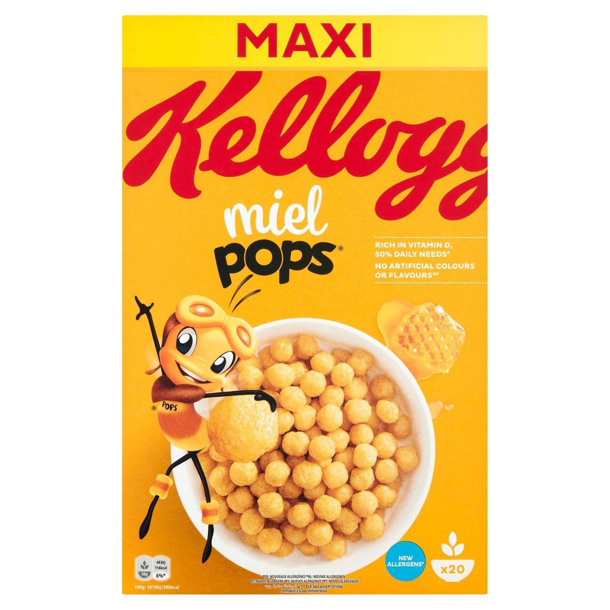 Kellogg's Honey Pops Maxi Pack 600 g