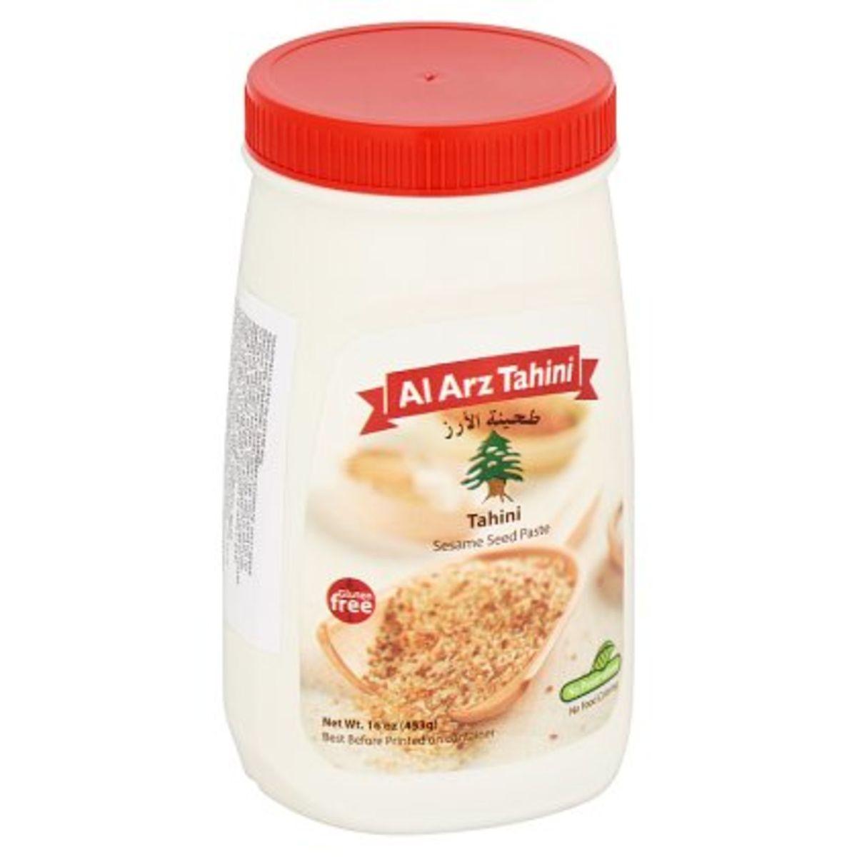 Al Arz Tahini Sesame Seed Paste 453 g