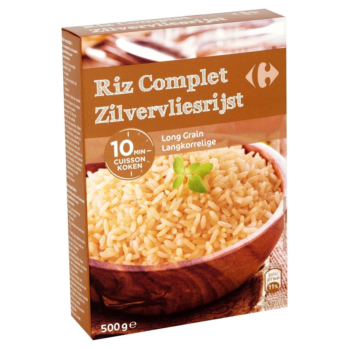 Carrefour Riz Complet Long Grain 500 g