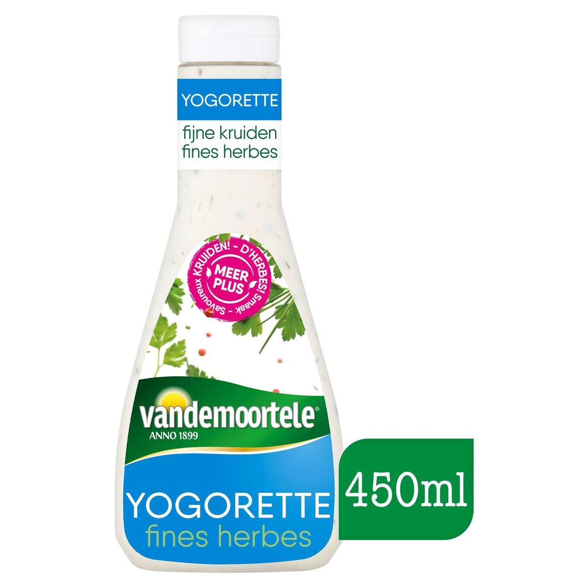 Vandemoortele Fijne Kruiden Yogorette Vinaigrette 450 ml