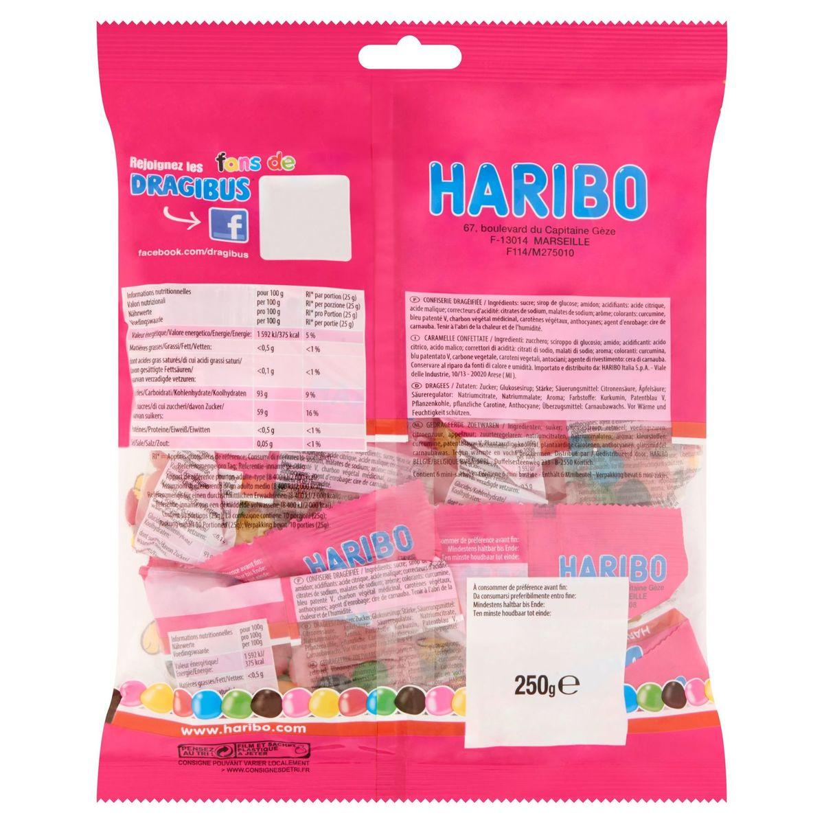 Haribo Dragibus Original Multipack 250 g