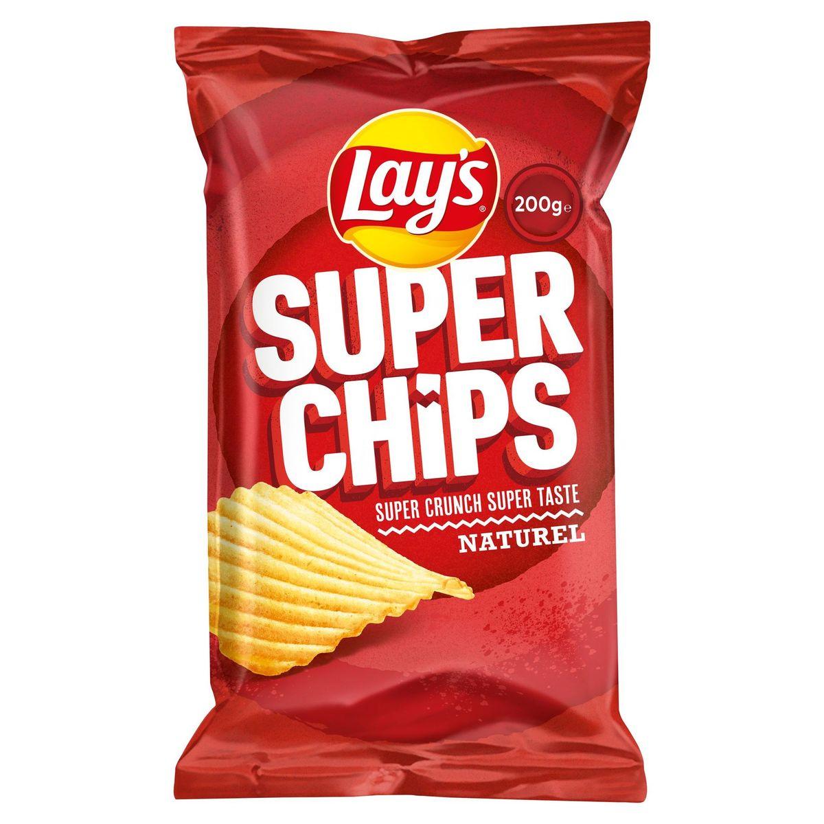 Lay's Superchips Salé 200 gr
