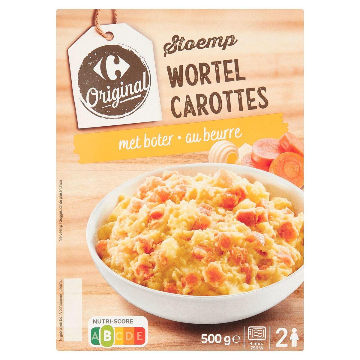 Carrefour Original Stoemp Wortel met Boter 500 g