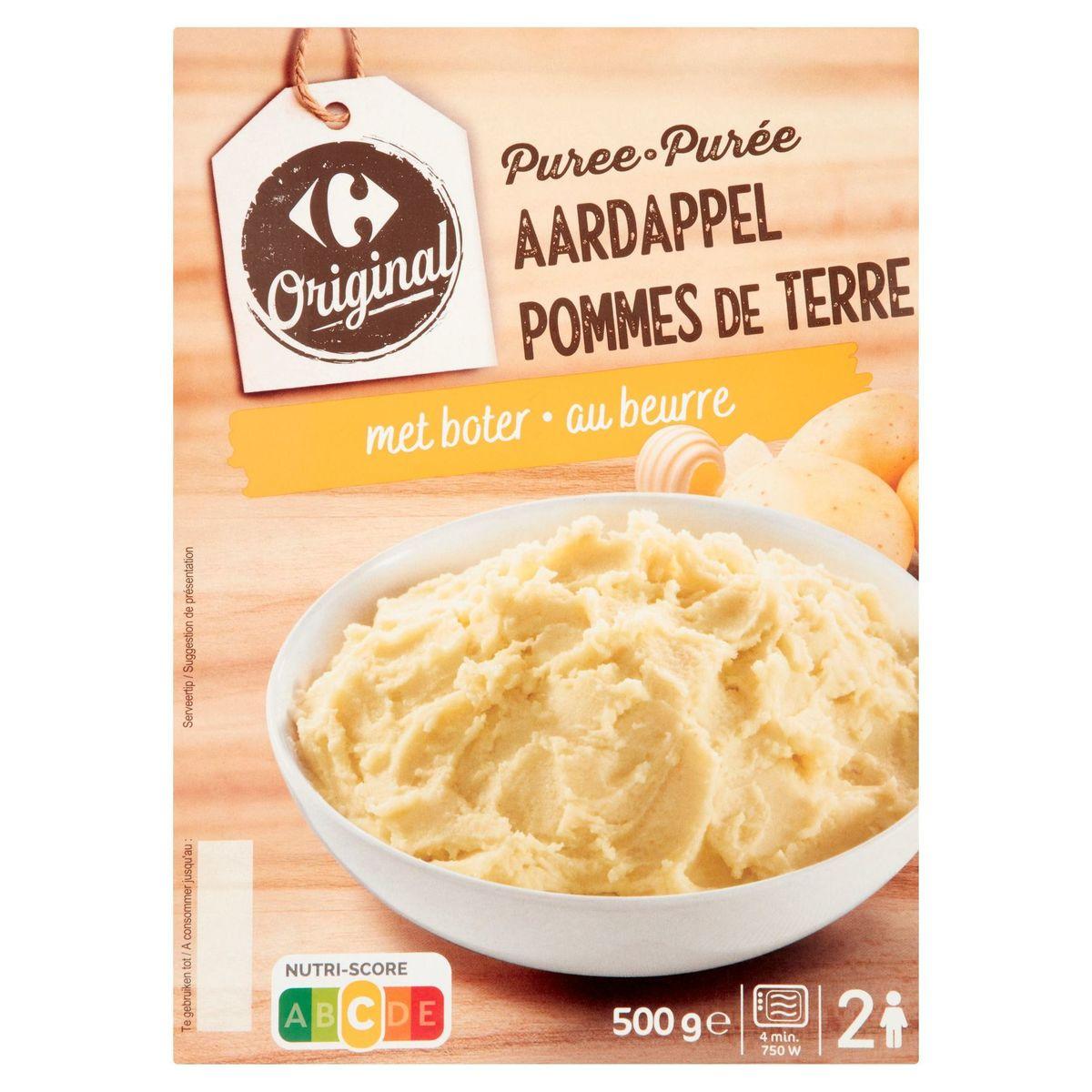 Carrefour Original Purée Pommes de Terre au Beurre 500 g