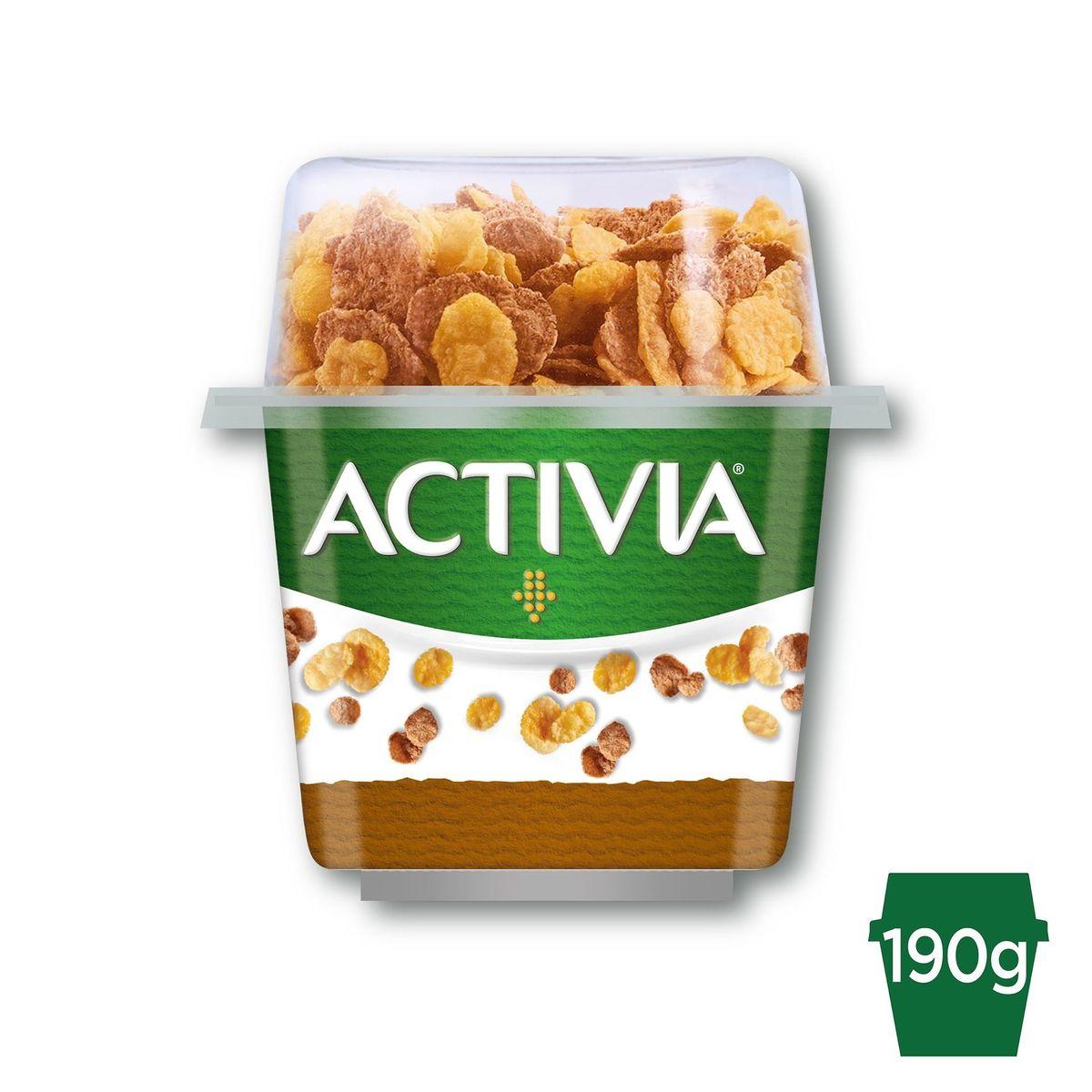 Activia Topping Yoghurt & Granen met Probiotica 190 g