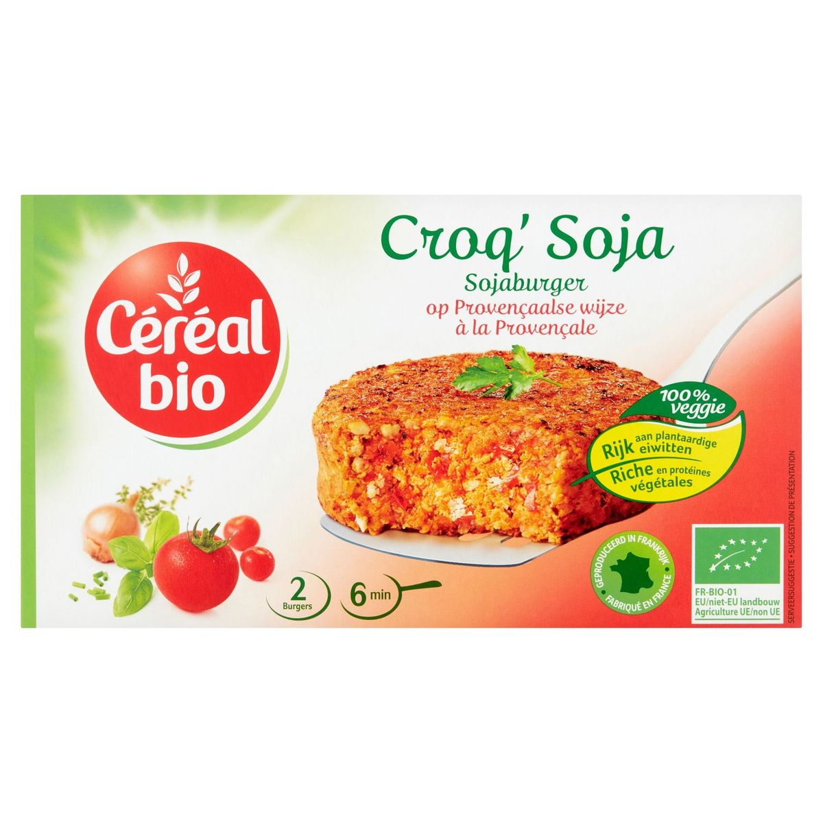 Céréal Bio Croq' Soja à la Provençale 2 x 100 g