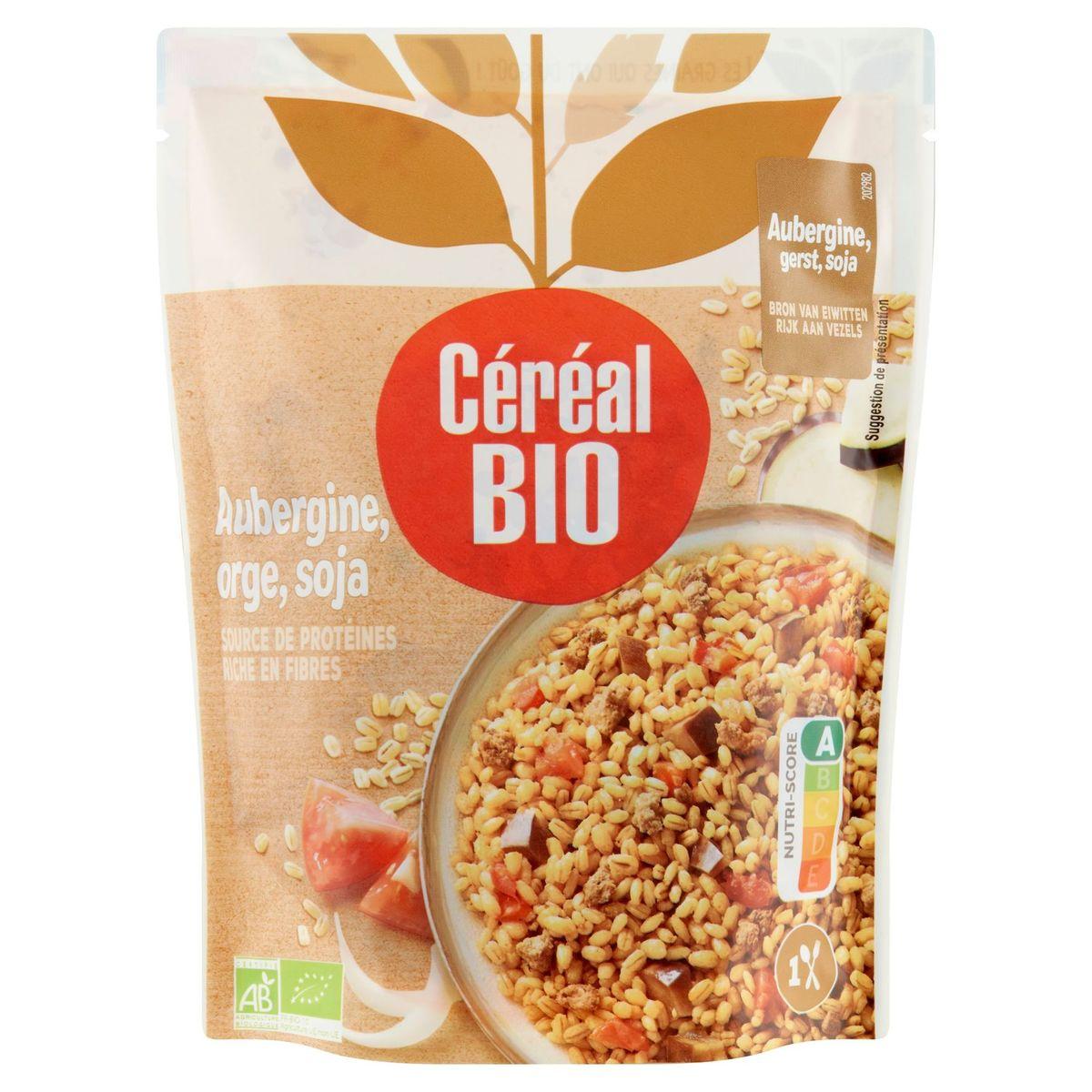 Céréal Bio Cuisiné Aubergines, Orge & Soja 250 g