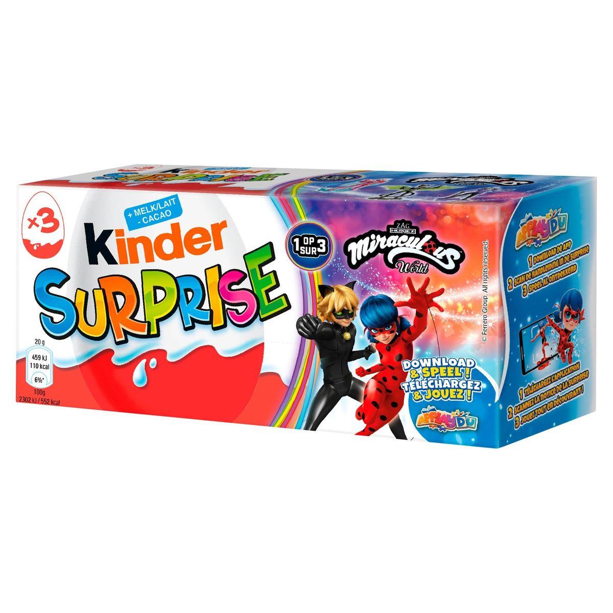 Kinder Surprise 3 x 20 g